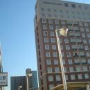 Toyoko Inn Chiba Minato Ekimae - Hotel Exterior (with Chiba-Minato Station in foreground)