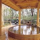 Rokan Kamogawakan - Open-air bath