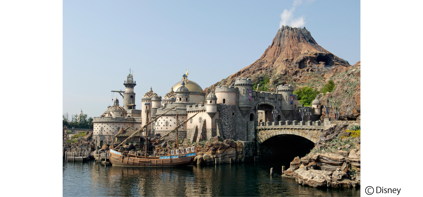 Located Facing Tokyo Bay, Tokyo Disney Sea Takes Its Inspiration From  Stories And Legends Associated With The Sea. This New Disney Theme Park  Overflowing ...